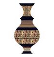 Tribal vase vector image