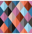 Geometrical seamless pattern with diamonds vector image