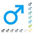 Male symbol icon vector image