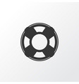 sea rescue icon symbol premium quality isolated vector image