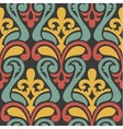 colorful abstract retro seamless geometric pattern vector image