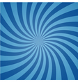 Radial comic background vector image