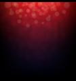 dark red bokeh vector image