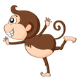 a monkey vector image