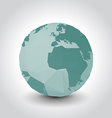 Polygon Earth vector image