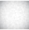 Digital triangle pixel mosaic vector image vector image