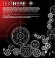gears-background vector image vector image