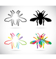 image of an insects vector image