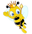 queen bee vector image vector image