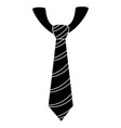 tie accessory design vector image