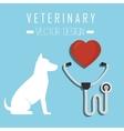 Veterinary clinic healthcare vector image