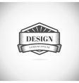 Logo design elements template vector image
