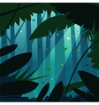 The Jungle vector image