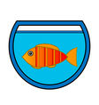 Aquarium icon vector image vector image