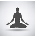 Lotus Pose Icon vector image