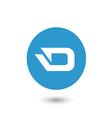 Darkcoin icon vector image