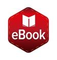 Ebook icon sign vector image