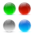 Bright colorful icon balls vector image vector image
