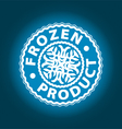 logo of the natural product vector image