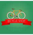 Bike shop icon vector image