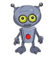 cartoon image of robot vector image