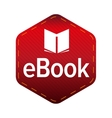 Ebook icon sign vector image