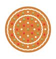 Gingerbread Circle vector image