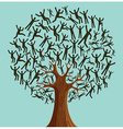 Isolated Diversity Tree people vector image vector image