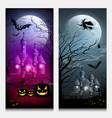 happy halloween collections banner vector image