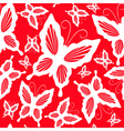 seamless pattern with butterflies 2 vector image vector image