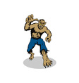 Werewolf Monster Running vector image