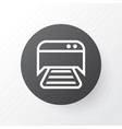photocopy machine icon symbol premium quality vector image
