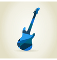 Guitar abstract vector image