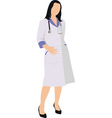professional woman vector image vector image