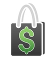 Shopping Bag Gradient Icon vector image
