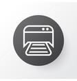 photocopy machine icon symbol premium quality vector image