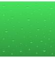 Green bubbles vector image