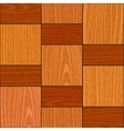 seamless light oak square parquet panel texture vector image vector image