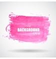 Abstract Pink Grunge Splash Banner EPS10 vector image