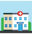 City hospital building or clinic vector image