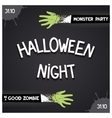 Halloween Night party vector image
