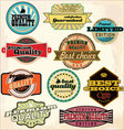 Vintage Labels Collection - Best Quality vector image
