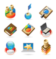 Icon concepts for success vector image vector image
