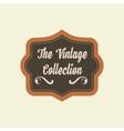 Retro vintage badges logo and labels Pin badge vector image