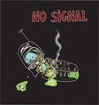 no signal vector image