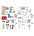 Skin care Accessories for skin vector image