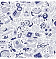 Science - seamless background vector image