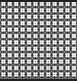 retro pattern with grey black and white vector image vector image