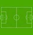 soccer field or football field eps10 vector image