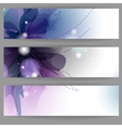Floral Summer Banners vector image